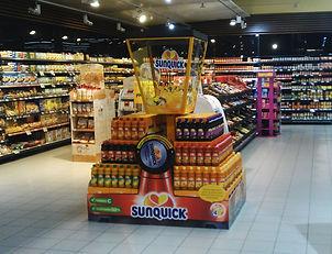 Reklamno, trgovinsko stojalo Sunquick