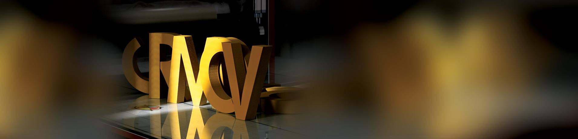 3D ČRKE, 3D NAPISI