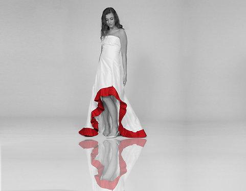 Flamenco Silk Taffeta Gown