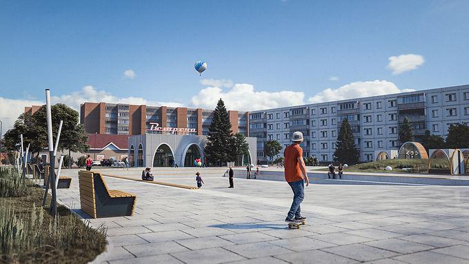 Расстанная площадь и Лягушкина деревня