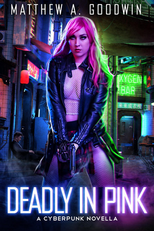 Deadly in Pink Cover