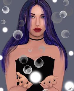"""Magick"" #magic #paganart #wicca #art #s"