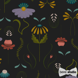 beve studio folk flower