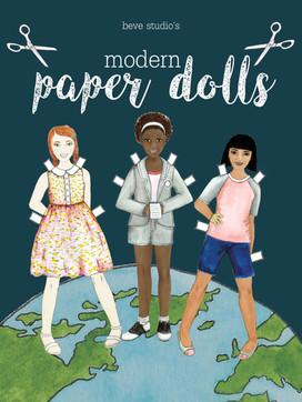 beve studio paper dolls cover
