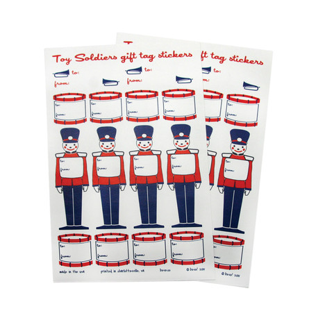 Toy Solier Gift Tags