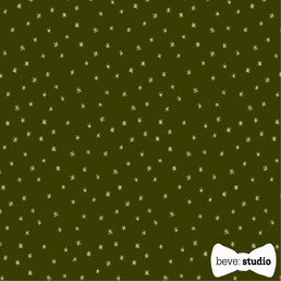 beve studio pencil star on green