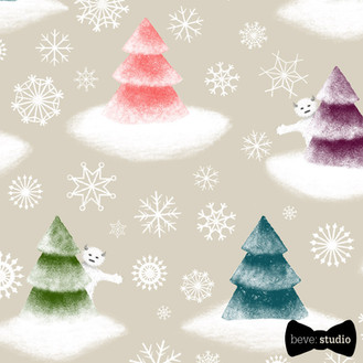 beve studio yeti christmas trees