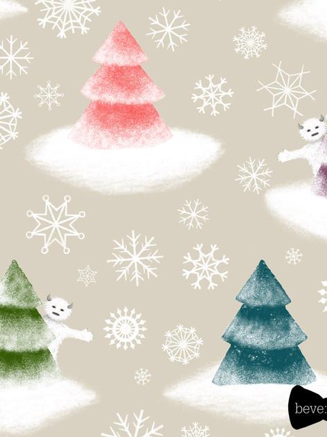 beve studio yeti christmas trees
