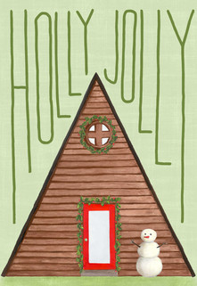 beve studio Holly Jolly A-frame