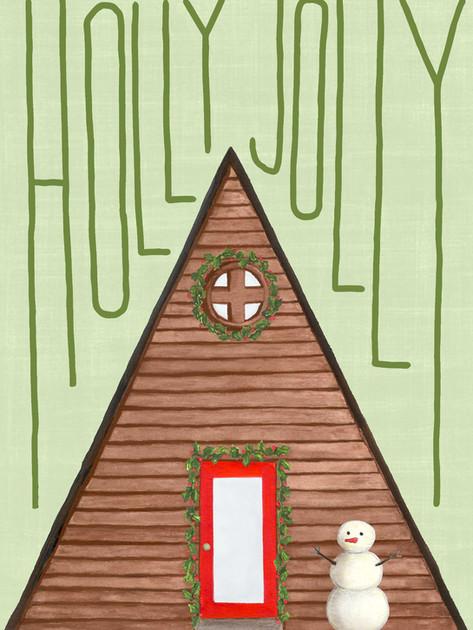 beve studio holly jolly a frame