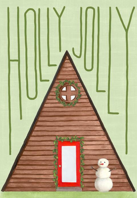 Holly Jolly A Frame