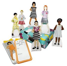 beve studio Paper Doll Display