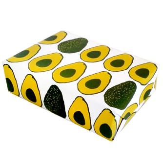 beve studio avocado gift wrap