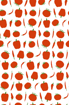 Tomatoes and Pepper Pattern