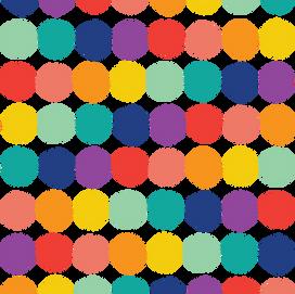 beve studio Rainbow Dot