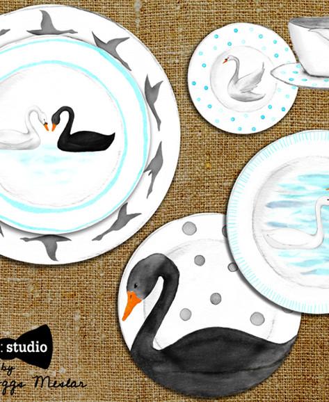 beve studio swan collection