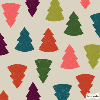 beve studio Multicolor Christmas Tree