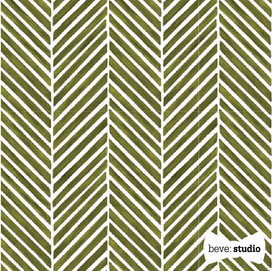 beve studio green herringbone