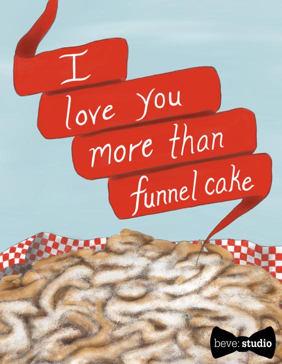 Funnel Cake Card