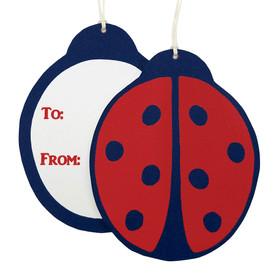 beve studio ladybug gift tags
