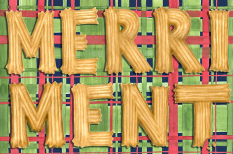 beve studio Merriment Card