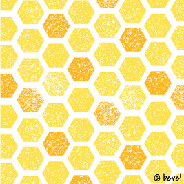 Yellow Hex Pattern