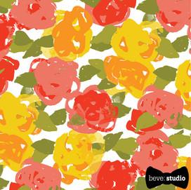 beve studio vintage floral