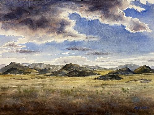 West Desert Shadows