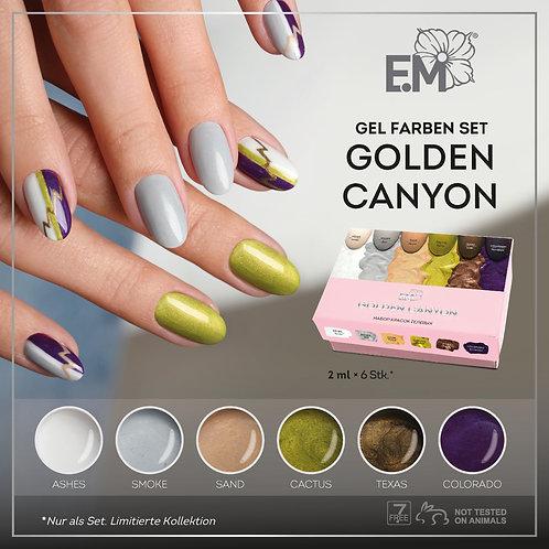 Gel Farben Set Golden Canyon