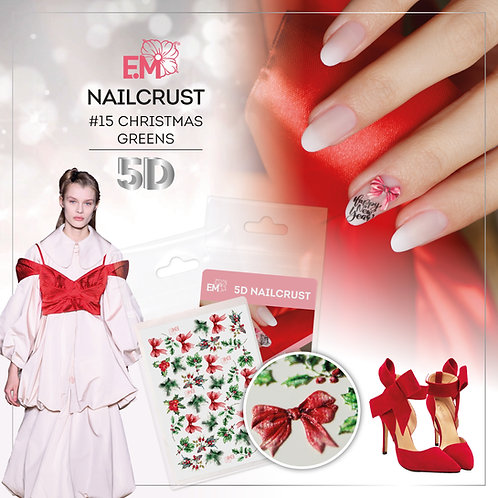 5D Christmas Nailcrust
