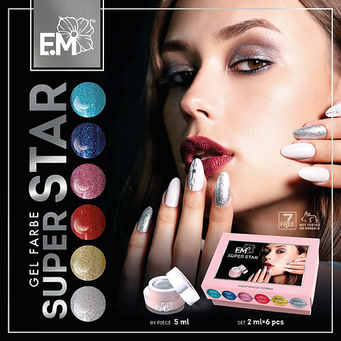 Gel Farben Super Star 5ml