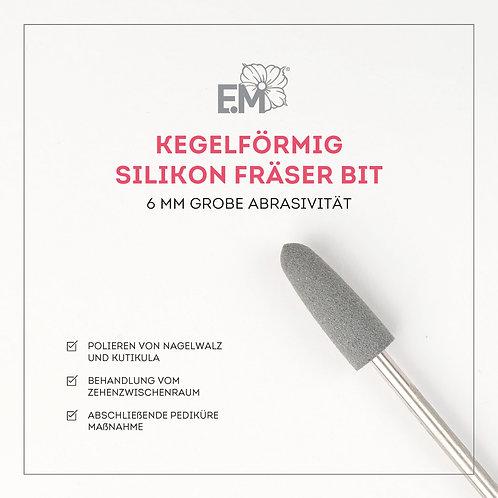 Silikon Bit Kegelförmig 6mm