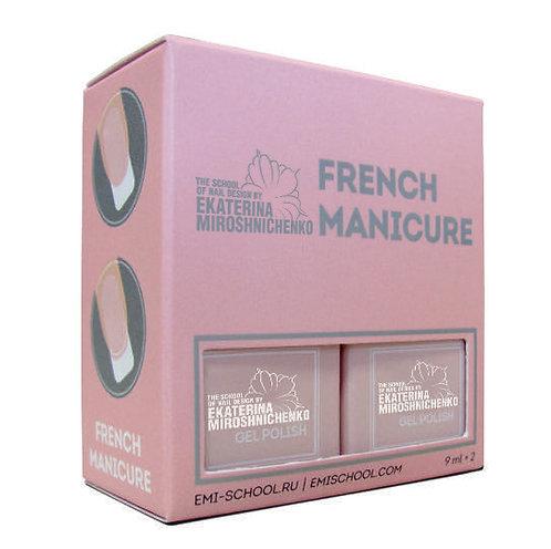Gel-Lack Set French Maniküre