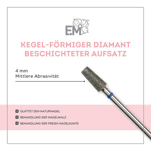 Kegel Diamant Aufsatz 4mm