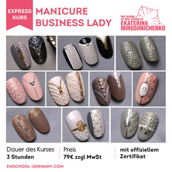 Manicure Business Lady
