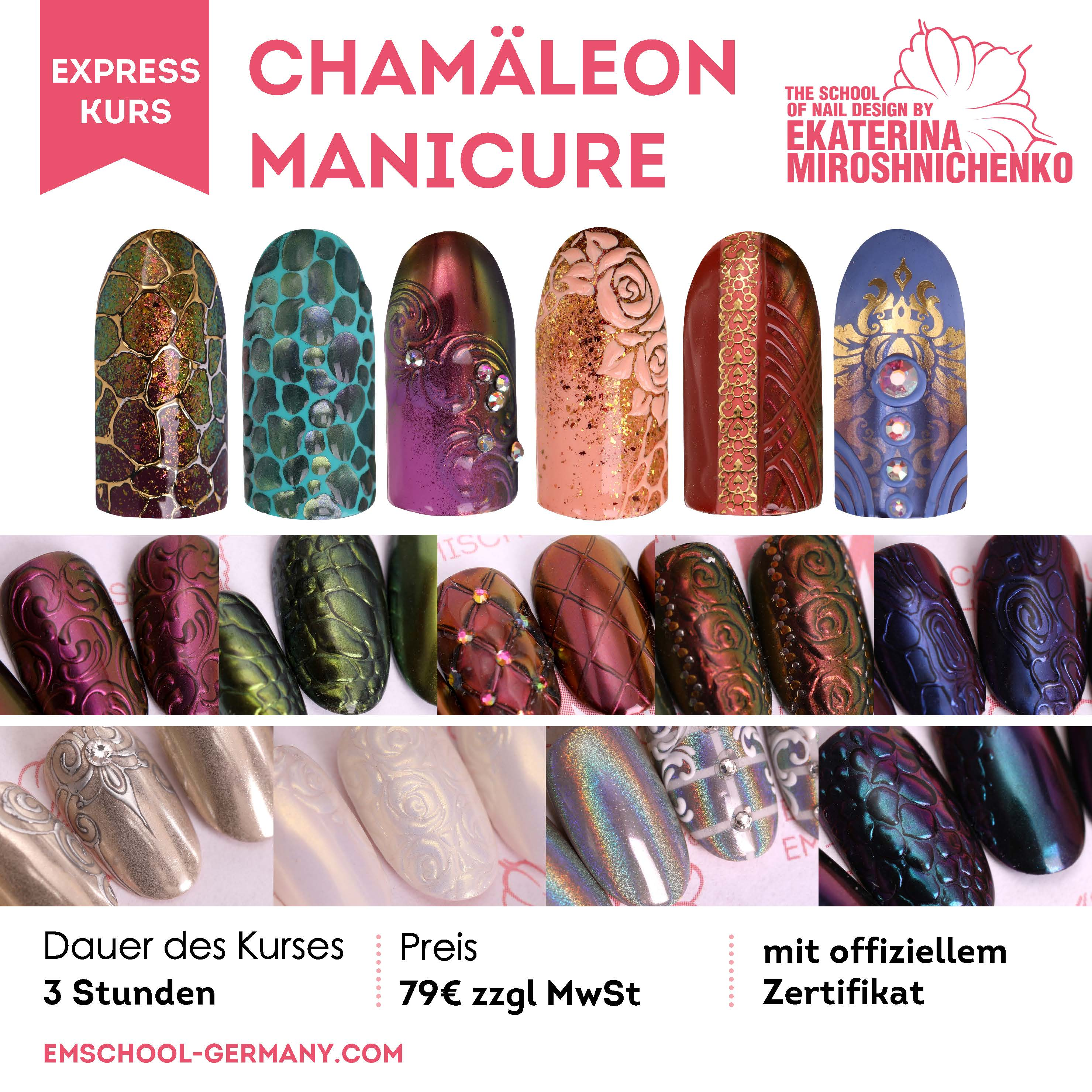 Chamäleon Manicure