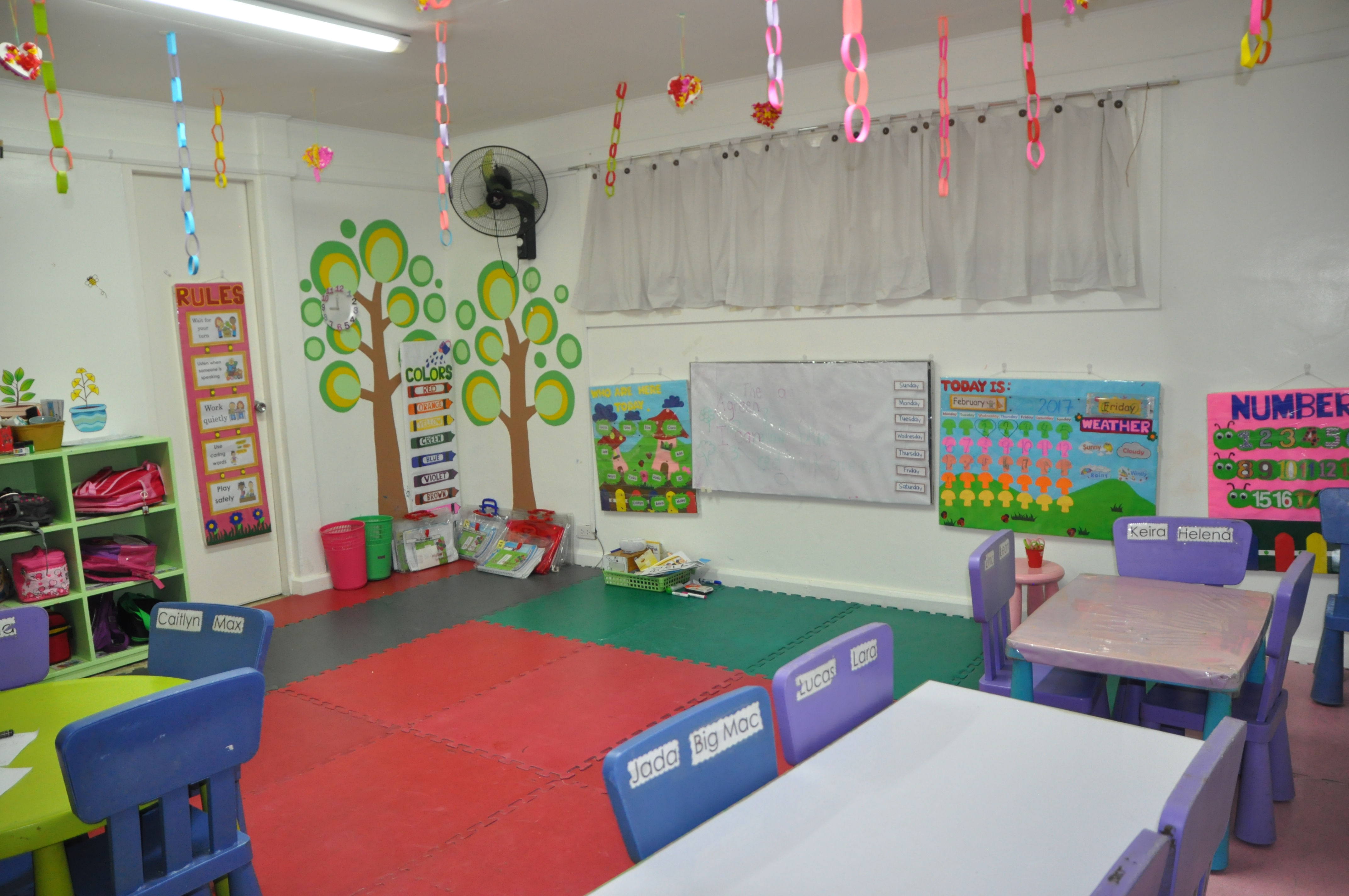 Mulberry Kids Kinder 2 Room
