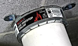 LCC Intumescent Firestop Collars