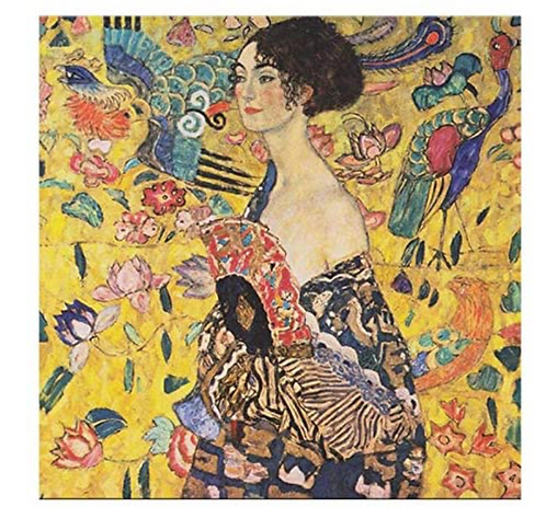 "Diamond Painting ""Woman Asian flo"" 30 x 30 cm"