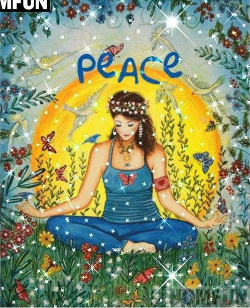 "Diamond Painting ""20 x 30"" Peace of mind"
