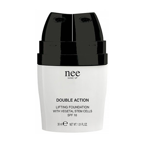 NEE - Double Action , Lifting foundation w/vegetal stem cells SPF 10