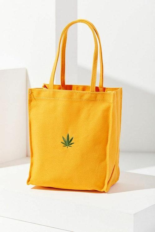 Mini Canvas Tote Bag Yellow Multi