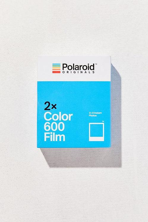 polaroid originals color-600 instant film twin-pack