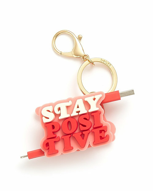 Retractable Charging Cord -Stay Positive