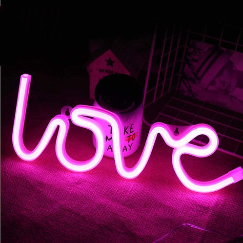 Luz Nocturna de Pared - Love