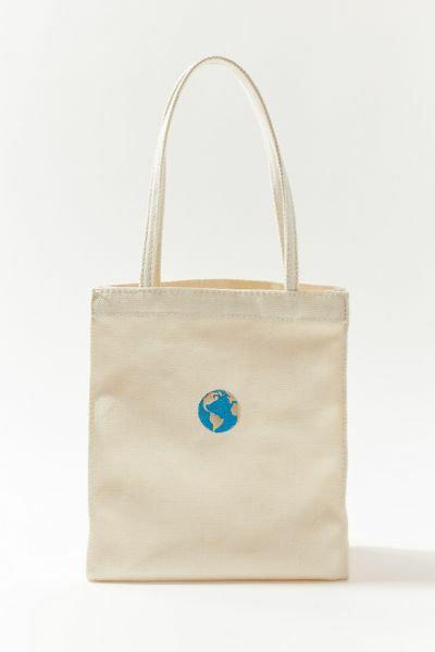 Mini Canvas Tote Bag World