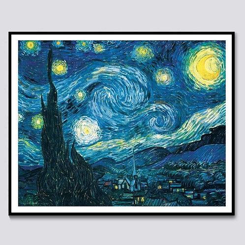 """Diamond Painting """"Starry Nights"""" 40 x50"""