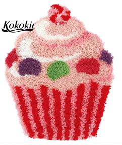 """Alfombra de lana """"Cupcake """" 30 x 50"""