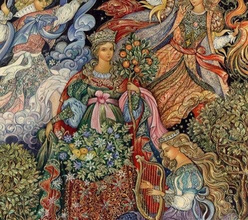 "Diamond Painting ""Renaissance Flow"" 35 x 35 cm"
