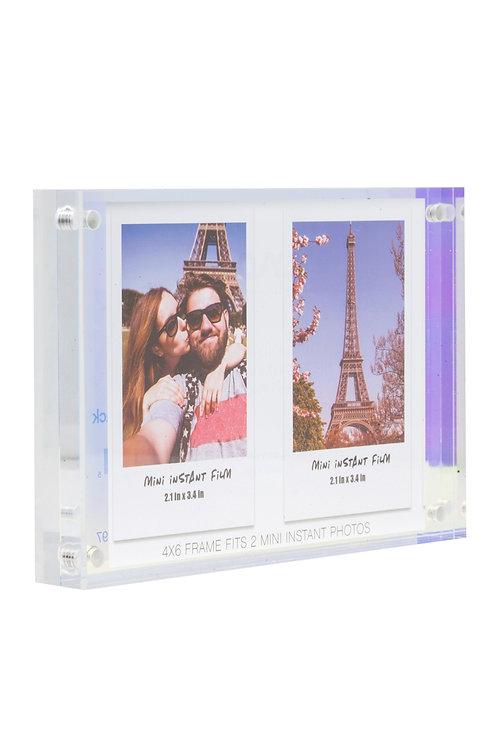 Marco Iridescente para Fotos Instantaneas con Opción de personalización